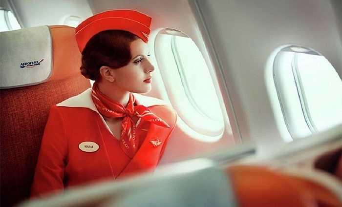Nữ tiếp viên quyến rũ của Aeroflot