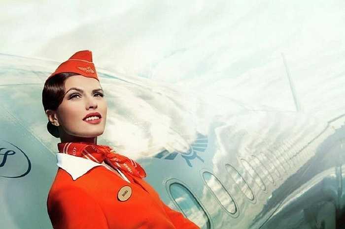 Trang phục vừa hiện đại vừa phong cách của Aeroflot