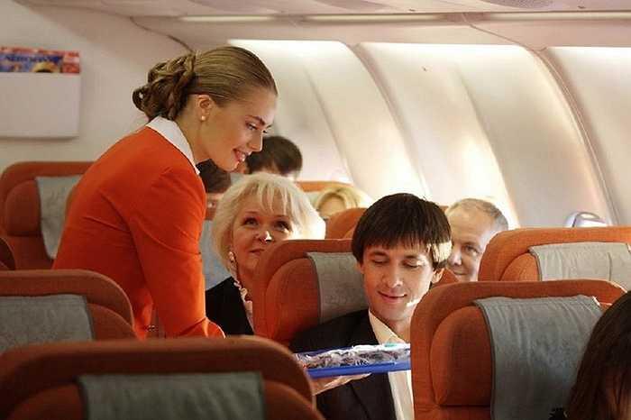 Đồng phục của Aeroflot được ra đời từ năm 2010