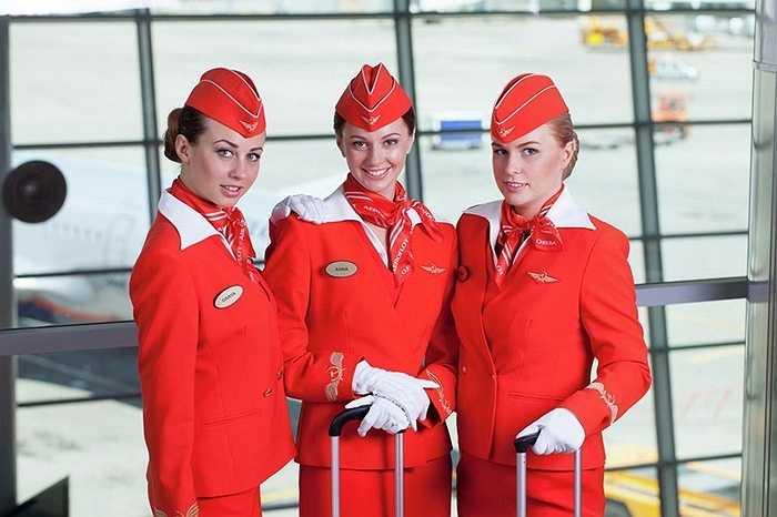 Phối màu của bộ đồng phục khiến hành khách cảm thấy dễ chịu