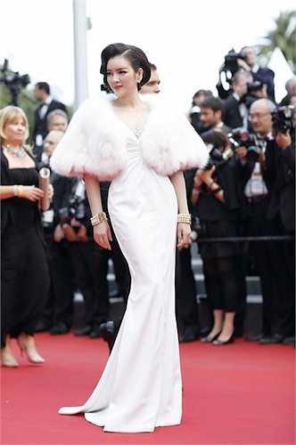 Một số hình ảnh của Lý Nhã Kỳ tại Cannes: