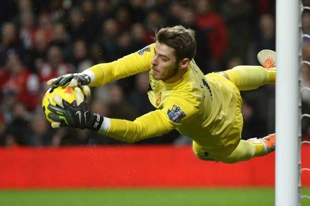 Trong màu áo Man Utd, David De Gea đang tiến bộ không ngừng