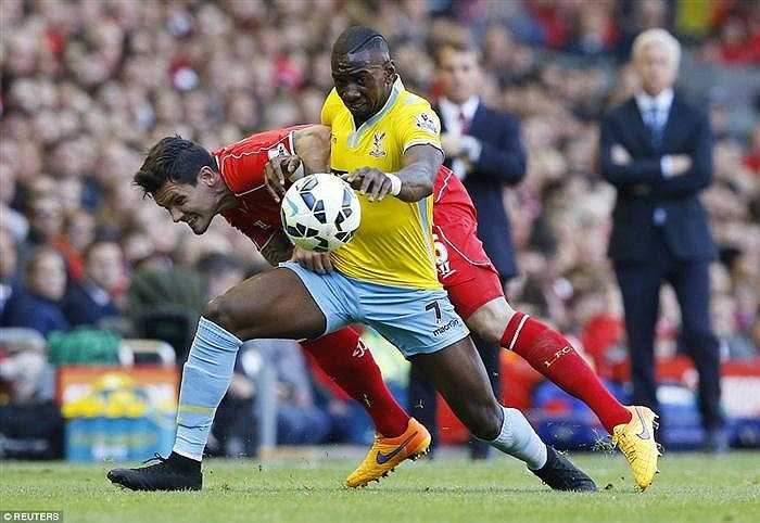 Nhưng Crystal Palace đã thể hiện một phong độ xuất thần, bẻ gãy nhiều đợt tấn công của Liverpool