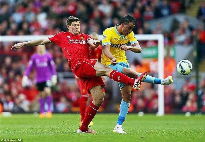 Steven Gerrard đã có trận đấu khá hay