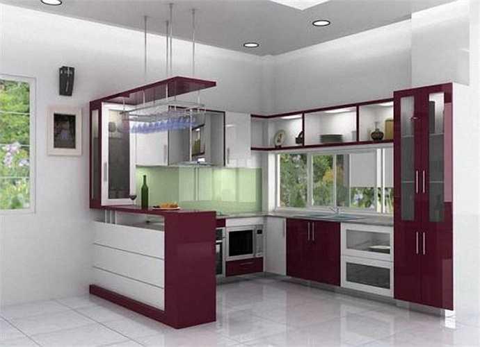 Căn bếp có thể coi là vật tượng trưng cho nữ chủ nhân trong nhà. Tốt nhất phía sau bếp phải có tường bởi điều này ngụ ý rằng người vợ có thể có điểm tựa và chỉ huy, quán xuyến được mọi việc trong nhà.