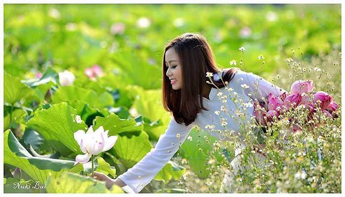 Nông Thị Quỳnh (Nick Quỳnh Cherry), Á khôi Đại học Nội vụ Hà Nội là một trong những cô gái nổi tiếng của ngôi trường này