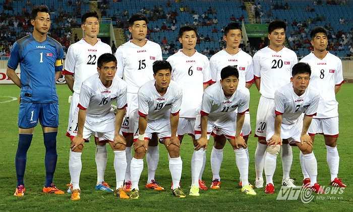 Triều Tiên là đội bóng hàng đầu châu lục điều này ai cũng rõ. (Ảnh: Quang Minh)