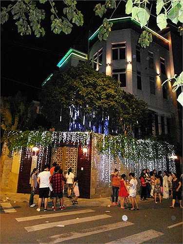 Biệt thự của Mr Đàm nằm trên đường Thất Sơn, thuộc khu cư xá Bắc Hải, quận 10, TP.HCM