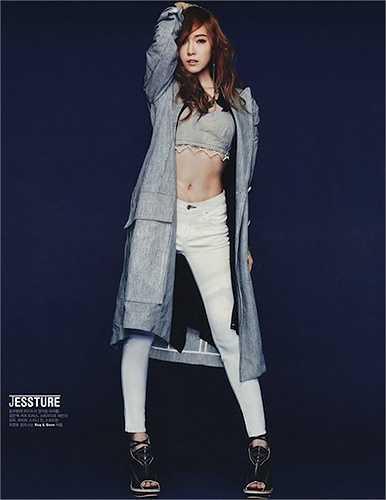 Jessica - cựu thành viên nhóm SNSD cũng có vòng eo săn chắc đẹp mắt