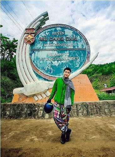 Chàng trai này có sở thích: Du lịch, chụp hình và tham gia phong trào thanh niên, tình nguyện.
