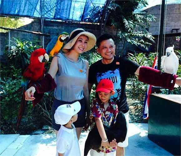 Hà Kiều Anh thường xuyên cùng chồng con đi du lịch khắp nơi trên thế giới.