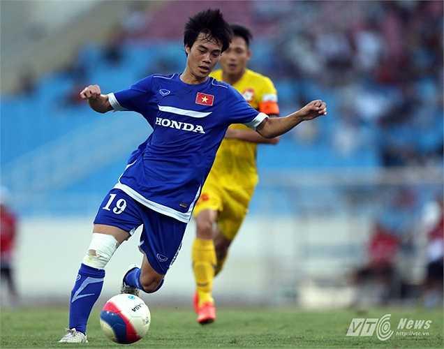 Văn Toàn bị loại phút chót khỏi đội tuyển Việt Nam chuẩn bị cho trận đấu với Thái Lan. (Ảnh: Quang Minh)