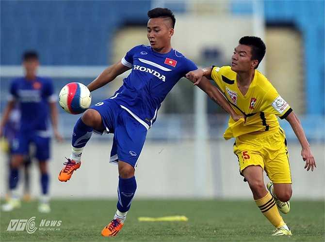 Tiền đạo Hồ Tuấn Tài đang đứng trước cơ hội lần đầu dự SEA Games. (Ảnh: Quang Minh)