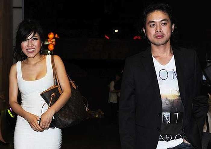 Trang và Dương Khắc Linh cùng nhau xuất hiện tại một sự kiện.
