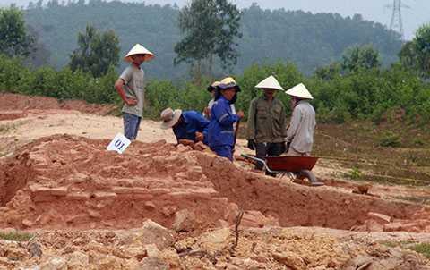 di tích Chăm, nghìn năm tuổi, Quảng Nam, đường cao tốc, xem xét, giải tỏa