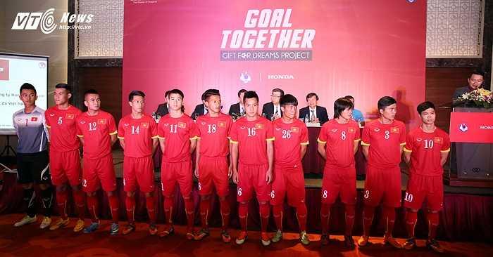 Đội hình đầy hứa hẹn của U23 Việt Nam. (Ảnh: Phạm Thành)