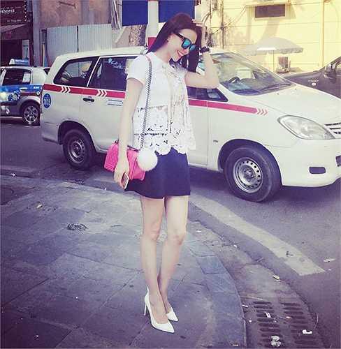 Thời gian gần đây, Trà Ngọc Hằng được đánh giá cao về phong cách thời trang.