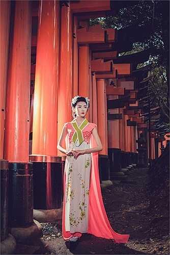 Những bức ảnh được thực hiện tại Kyoto giữa mùa Hanami tháng tư năm nay.