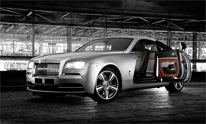 7. Rolls-Royce Ghost phiên bản đặc biệt lấy cảm hứng từ phim ảnh: Hơn 4,71 triệu tệ (gần 16,6 tỷ đồng)