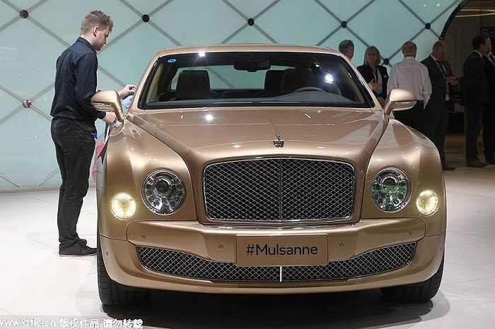 5. Bentley Mulsanne: 4,98 triệu tệ (hơn 17,5 tỷ đồng)