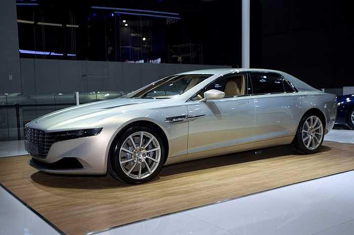 4. Aston Martin Lagonda Taraf: Hơn 5 triệu tệ (gần 17,6 tỷ đồng)