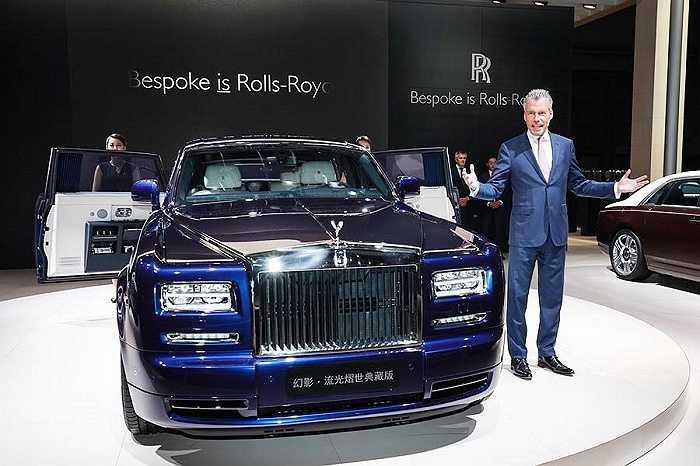 3. Rolls-Royce Phantom Limelight Collection: Hơn 6,88 triệu tệ (hơn 24 tỷ đồng)