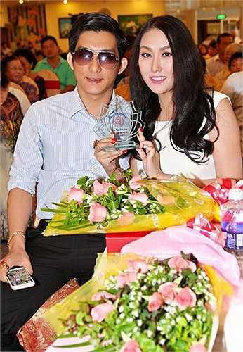 Phi Thanh Vân và chồng trong một sự kiện từ thiện mới đây nhất