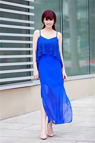 Trương Quỳnh Anh đang chuẩn bị cho bộ phim 'Bảo mẫu siêu quậy' do cô đóng vai một phụ huynh cá tính, sẽ ra mắt vào 1/6 tới.