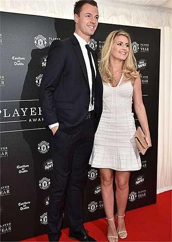 Vợ chồng Jonny Evans