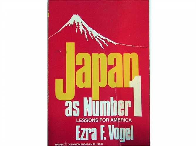 'Nhật Bản là đất nước số 1 thế giới' - cuốn sách được phát hành bởi nhà khoa học xã hội Harvard Ezra Vogel vào năm 1979. Quan điểm đã không được đón nhận và không đúng trên thực tế, bởi đến giờ chưa nước nào vượt kinh tế Mỹ.