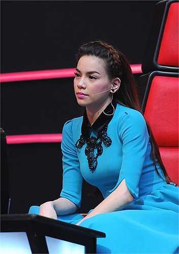Tại The Voice mùa đầu, một lần nữa, Hồ Ngọc Hà lại khẳng định đẳng cấp mặc đẹp của mình trong làng giải trí Việt.