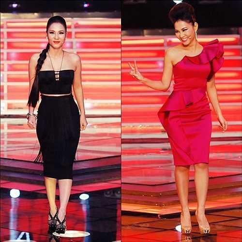 Khác với Hà Hồ, Thu Minh trong suốt cuộc thi Giọng hát Việt 2013 lại có phong độ thời trang trồi sụt bất thường. Lúc thì người ta thấy cô cá tính, lúc lại cực kỳ nữ tính, ngọt ngào, khi thì đơn giản và có lúc thì diêm dúa.