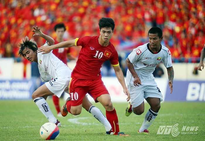Ngược lại, Myanmar có bàn gỡ hòa 1-1 ở phút 75 do công của Nay Lin Tun từ chấm 11m.