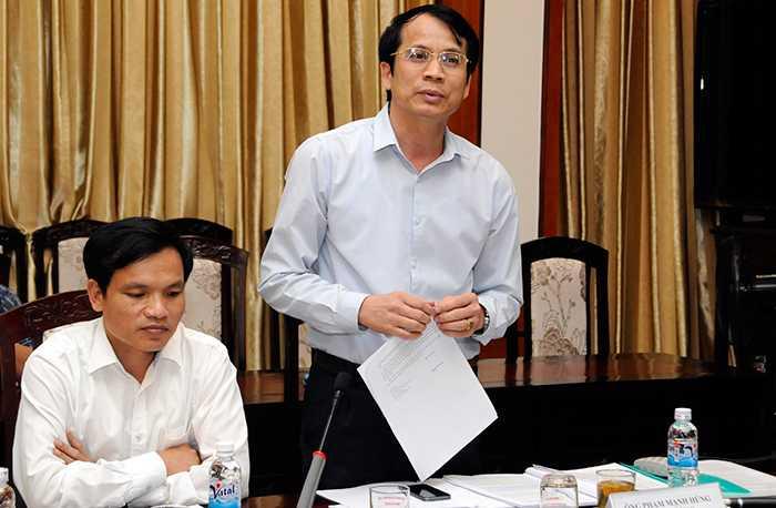 Thứ trưởng Bộ Giáo dục và Đào tạo Phạm Mạnh Hùng cho rằng việc học sinh đăng kí thi đại học ít đi là một tín hiệu vui.