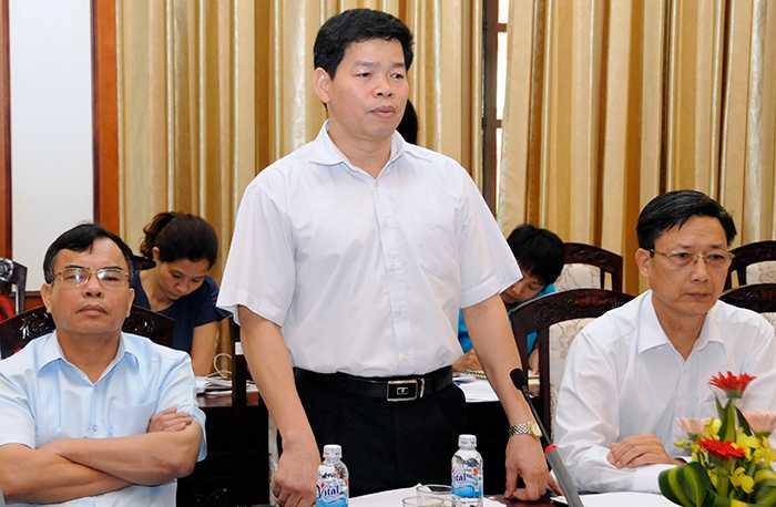 ông Lương Văn Việt, Phó Giám đốc Sở Giáo dục và Đào tạo Hải Dương