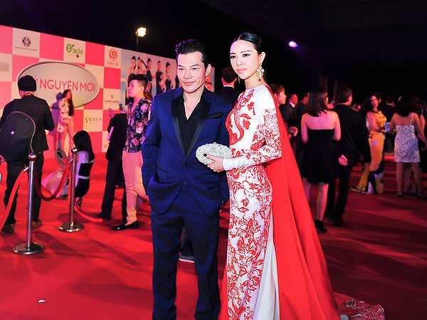 Tại sự kiện, Á hậu Trà Giang có dịp hội ngộ diễn viên Trần Bảo Sơn