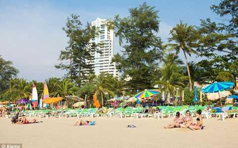 Khách sạn Baan Paradise nơi xảy ra vụ tai nạn kinh hoàng