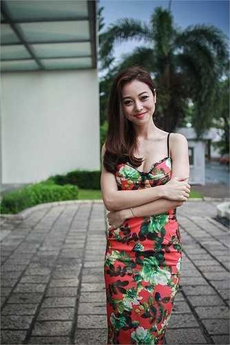 Vai diễn trong bộ phim 'Ma dai' có lẽ là lần duy nhất mỹ nhân gốc Việt hở bạo trở lại.