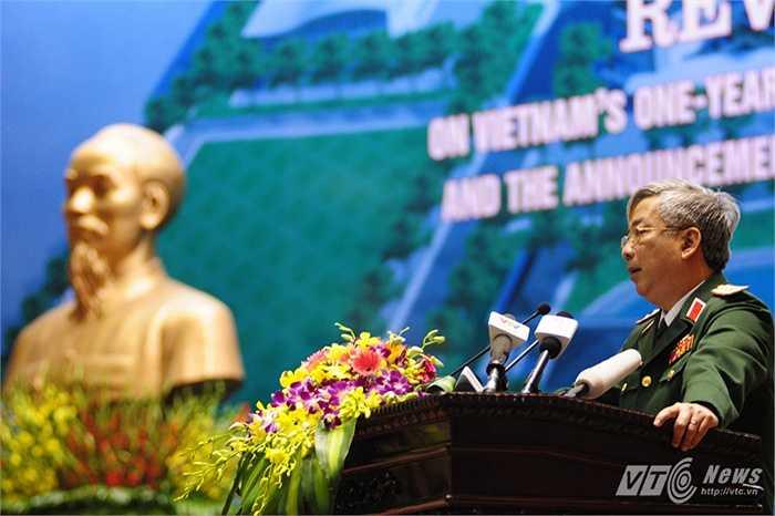 Thượng tướng cho biết, trong thời gian tới Việt Nam sẽ cử thêm các sĩ quan quân đội tham gia vào các hoạt động gìn giữ hòa bình của Liên Hợp Quốc