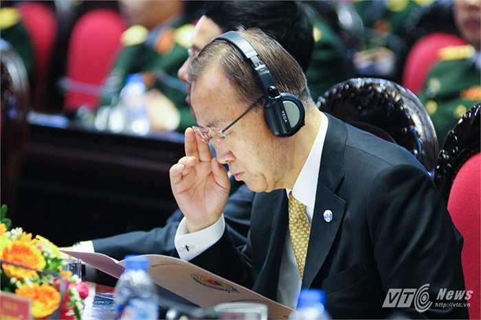 Tổng thư ký Liên Hợp Quốc Ban Ki Moon trong hội nghị