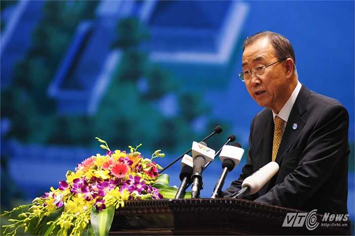 Ông Ban Ki Moon chia sẻ những công tác Việt Nam đã làm được trong hoạt động gìn giữ hòa bình 1 năm qua