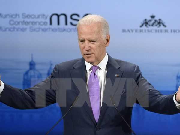 Phó Tổng thống Mỹ Joe Biden - Ảnh: TTXVN