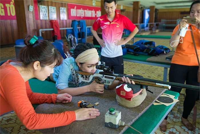 Ngắm thêm hình ảnh Phương Thanh tại Trung tâm huấn luyện thể thao Quốc gia Hà Nội.