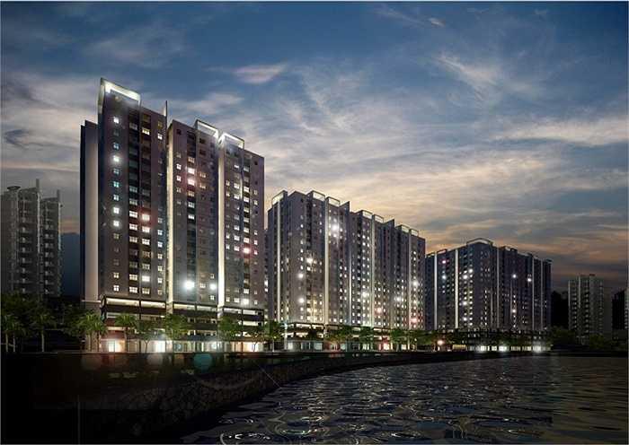 Tập đoàn Đất Xanh Group với dự án mới nhất tòa chung cư Sunview Town quận Thủ Đức, TP HCM.