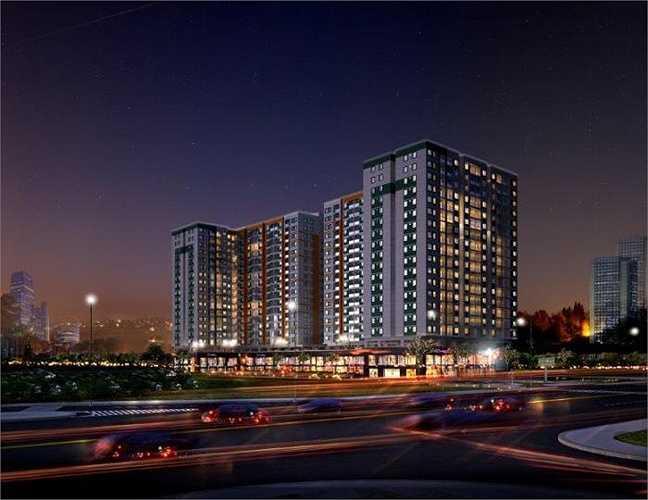 Công ty cổ phần đầu tư kinh doanh địa ốc Hưng Thịnh với dự án Melody Residences quận Tân Phú, TP HCM.