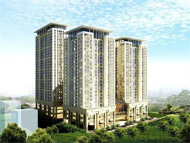 Công ty Cổ phần Đầu tư Văn Phú với dự án mới nhất là khu phức hợp Home City quận Cầu Giấy, Hà Nội.