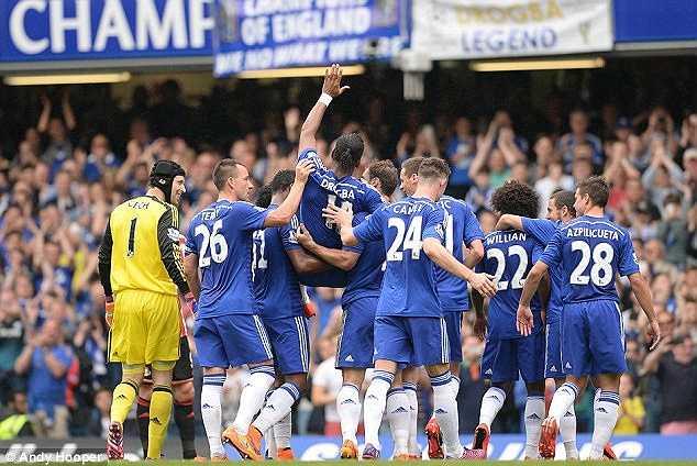 Mùa hè năm ngoái, Drogba bất ngờ quay trở lại Chelsea với bản hợp đồng kéo dài một năm.