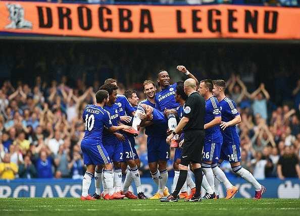Ở Chelsea, Drogba thực sự là một huyền thoại sống