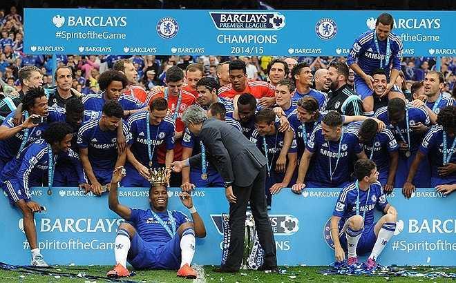 'Giành chức vô địch Premier League mùa giải 2004-05 và 2014-15 là một cảm giác tuyệt vời bởi vì tôi đã dẫn dắt Chelsea ở 2 mùa giải này', Mourinho thổ lộ