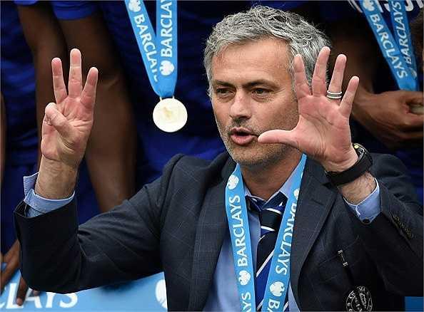 Lần thứ 8 vô địch quốc gia của Mourinho